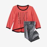 Nike Dry Sports Essential Crossover Infant/Toddler Girls' Tunic/Legging Set
