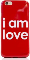 Peace Love World I am Love iPhone 6 Case