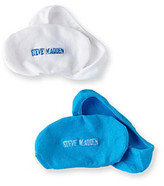 Steve Madden 2-pk. Footie Socks - Neon Blue