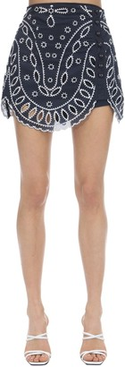 Alice McCall Moonchild Eyelet Lace Mini Skirt