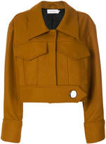 Marques Almeida Marques'almeida cropped extended sleeve jacket