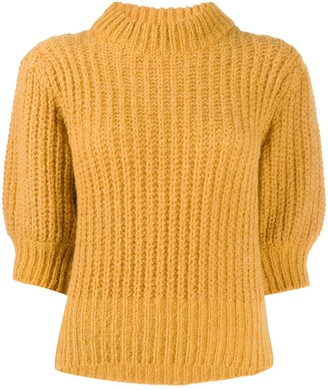 BA&SH Eric chunky knit jumper