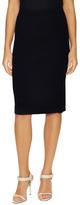 Lafayette 148 New York Solid Slim Knee Length Skirt