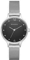 Skagen Women's 'Anita' Crystal Index Mesh Strap Watch, 30Mm