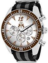 Jivago Men's 'Timeless' Quartz Stainless Steel Casual Watch (Model: JV4512NBK)