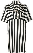 Nina Ricci striped shift dress - women - Silk - 34