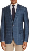 Jack Victor Windowpane Classic Fit Sport Coat - 100% Bloomingdale's Exclusive