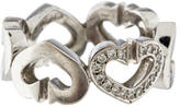 Cartier Pave Hearts & Symbols Ring