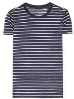 ATM Anthony Thomas Melillo Striped linen T-shirt