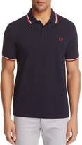 Fred Perry Tipped Logo Slim Fit Polo Shirt
