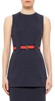 Akris Punto Women's Belted Sleeveless Jersey Tunic