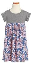 Tea Collection Toddler Girl's Alexis Mixed Print Dress