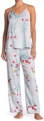 Josie Floral Print 2-Piece Pajama Set