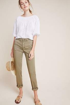 Anthropologie Chino By Relaxed Chino Trousers
