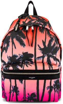 Saint Laurent Bag City Backpack in Multi | FWRD