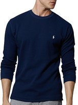 Polo Ralph Lauren Waffle Knit Long Sleeve Lounge Top