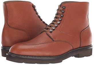 John Lobb Helston Moc Toe Boot (Tan) Men's Boots