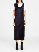 DKNY Pinstripe Dress With Adjustable Straps