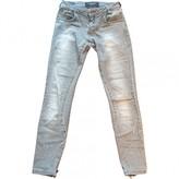 Philipp Plein Grey Cotton Jeans for Women