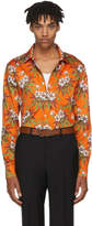 SSS World Corp Orange Weed Hibiscus Danger Shirt