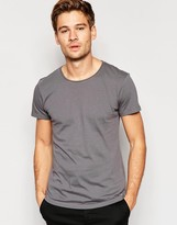Esprit T-shirt With Raw Edges