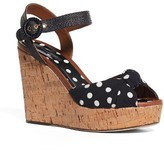Dolce & Gabbana Women's Cork Wedge Sandal