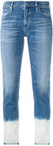 Citizens of Humanity patch detail jeans - women - Cotton/Spandex/Elastane - 26