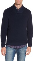 Rodd & Gunn Men's Charlesworth Suede Patch Merino Wool Sweater