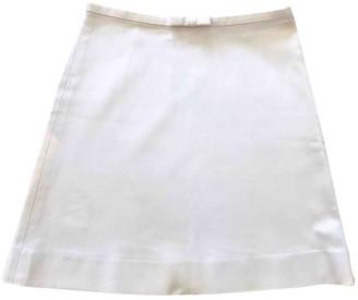 J&M Davidson J & M Davidson White Cotton Skirt for Women