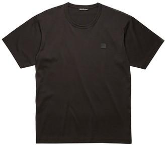 Acne Studios Classic Fit Cotton T-shirt Black