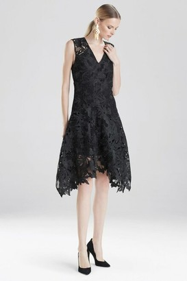 Natori Lace V-Neck Dress