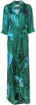 Borgo De Nor - maria robe tie dress - women - Polyester - 6
