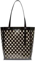 Rebecca Minkoff Stella North South Perforated Leather Tote