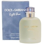 Dolce & Gabbana Light Blue By For Men Eau De Toilette Spray, 4.2-Ounces
