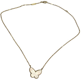 Van Cleef & Arpels White Yellow gold Necklaces