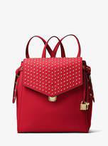 Michael Kors Bristol Medium Studded Leather Backpack