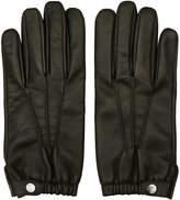 Reiss Reiss Thornton - Dents Leather Gloves In Brown