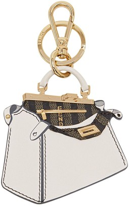 Fendi Peekaboo handbag keyring