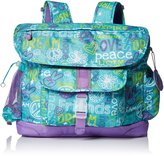 Bixbee Girl's Hope Peace Love Kids Backpack