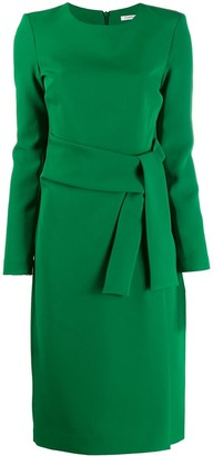 P.A.R.O.S.H. long-sleeved midi dress