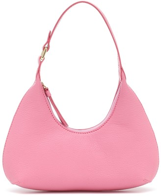 BY FAR Exclusive to Mytheresa a Baby Amber leather shoulder bag