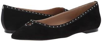 Sam Edelman Rini (Black Kid Suede Leather) Women's Shoes