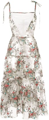 macgraw Prairie embroidered dress