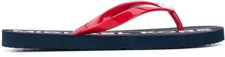 MICHAEL Michael Kors logo flat flip-flops