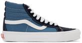 Vans Navy OG SK8 Skool-Hi LX Sneakers
