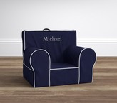 Pottery Barn Kids Navy with White Piping Anywhere Chair®