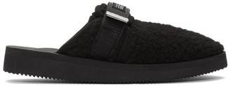 John Elliott Black Suicoke Edition ZAVO-CabJE Slippers