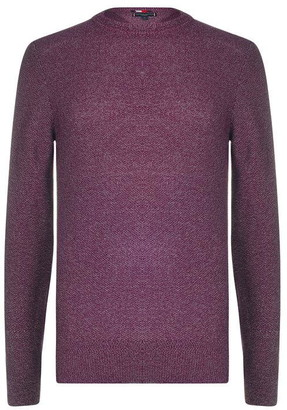 Tommy Hilfiger Tailoring Tommy Honey Comb Crew Neck Jumper