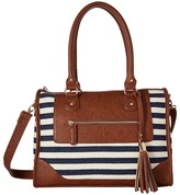 Gabriella Rocha Kate Nautical Stripe Satchel