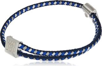 Alex and Ani Hope Rope Blue Bangle Bracelet